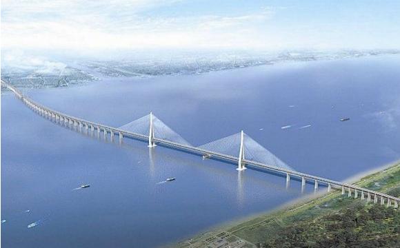 世界首座真正意义上的公铁两用跨海大桥——平潭海峡公铁两用桥
